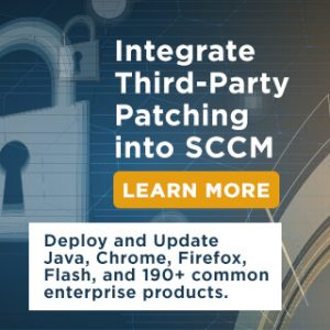 Third-Party Patch Management and Application Deployment in Microsoft SCCM with Patch My PC
